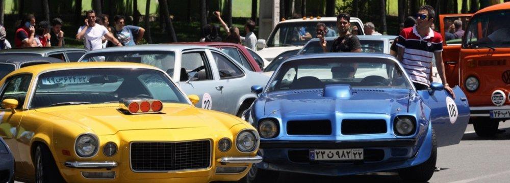 3-Day Classic Car Rally in Tehran