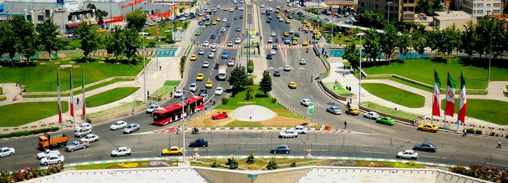 Tabriz Launches Odd-Even Traffic Scheme