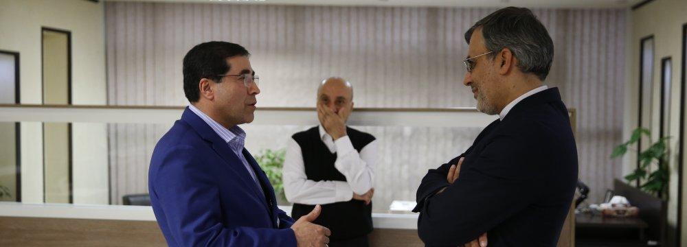 Bakhtiari Confers With Deputy FM