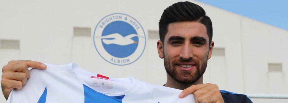 Brighton Breaks Club Transfer Record for Jahanbakhsh