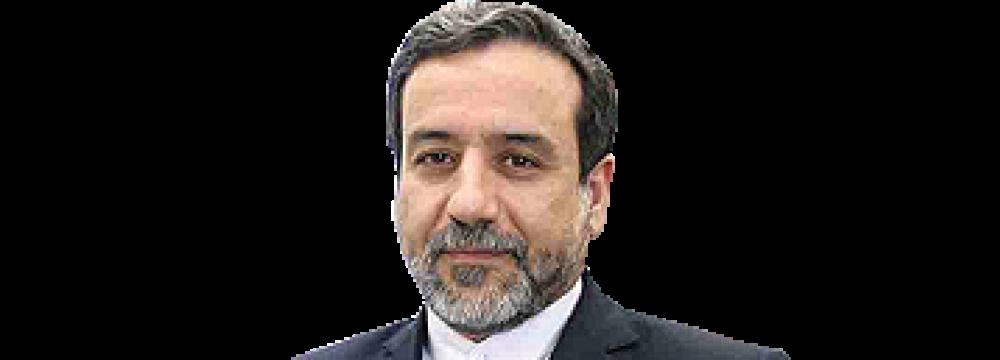 Araqchi in China to Review JCPOA Meeting's Agenda