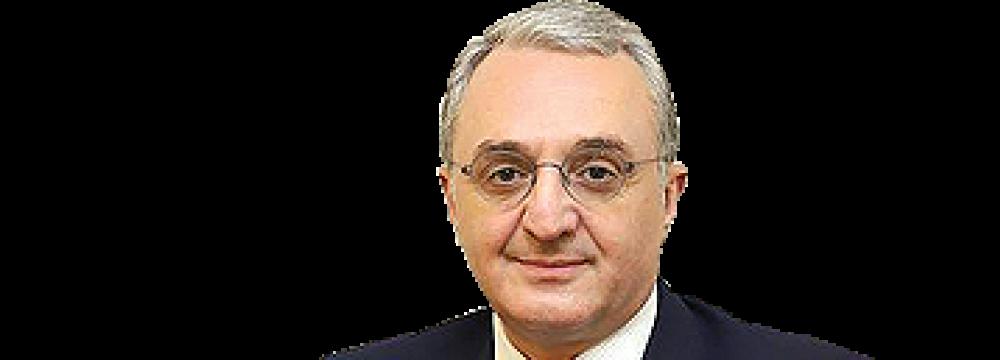 Yerevan to Review Tehran's Peace Initiative