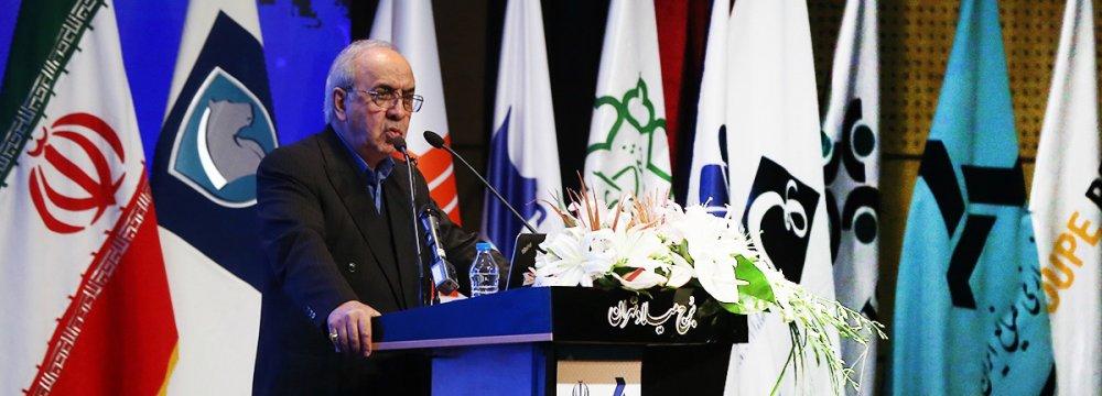 Mansour Moazzami, head of Iran's Development and Renovation Organization