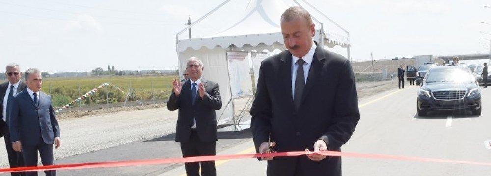 Section of Iran-Azerbaijan Highway Inaugurated