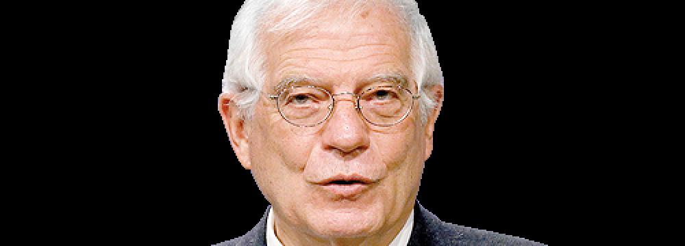 Borrell: US No Longer a JCPOA Participant