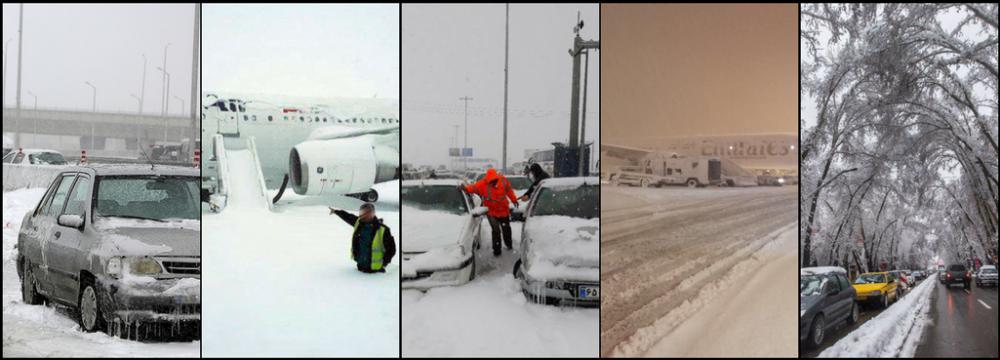 Iran: Emergency Response as Heavy Snow Causes Disruptions