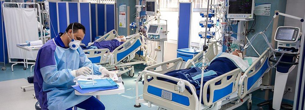 Tehran Corona Hospitalizations Decline