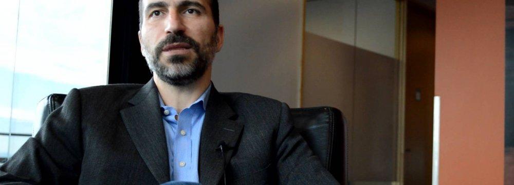 Uber Picks Iranian as New CEO