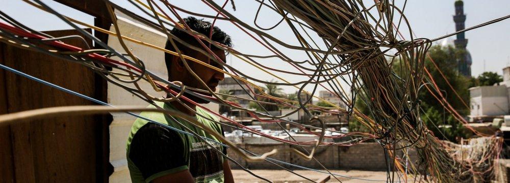 Power Supply to Iraq Resumes