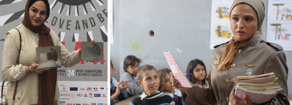 Abyar's Film Wins 2 Minsk Awards