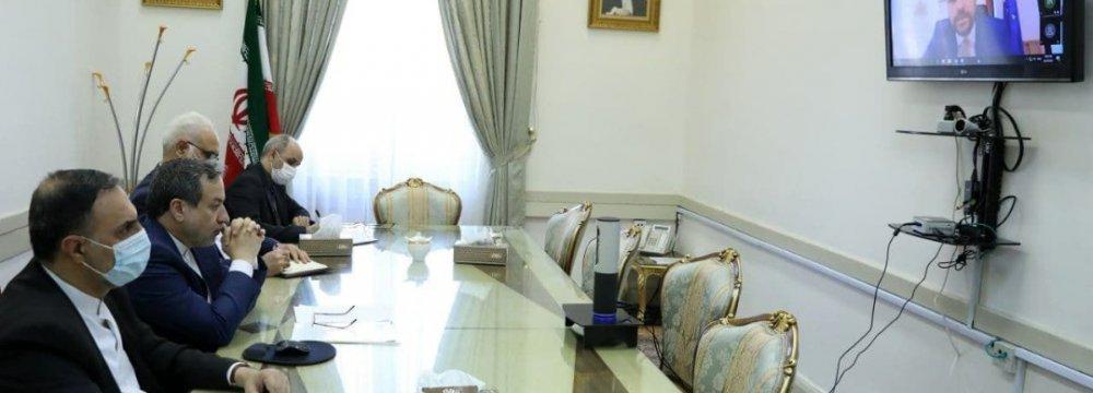 Virtual Political Talks With Bulgaria