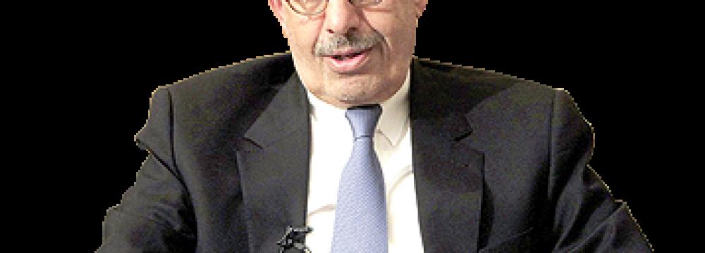 ElBaradei Takes Trump to Task Over Illogical Iran Sanctions