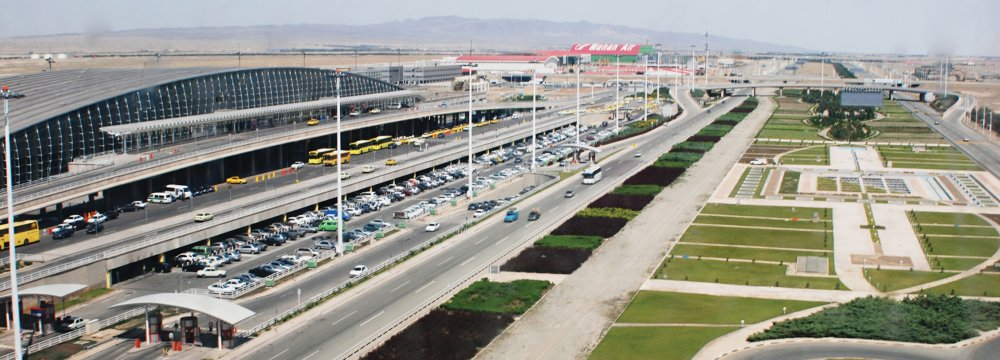 One of the major projects is the development of Imam Khomeini International Airport.