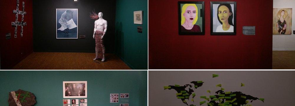 Views of the exhibit