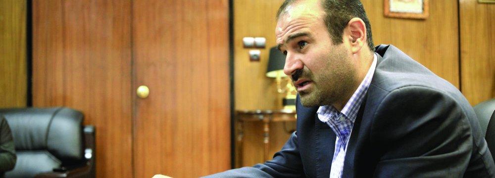 TSE's Managing Director Hassan Qalibaf-Asl