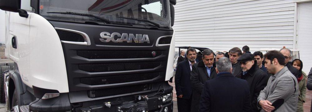 Iran's Truck Fleet Renewal on Track
