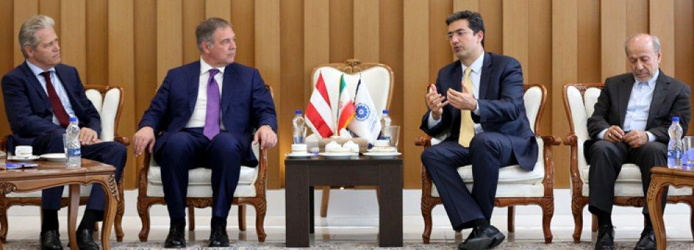 Iran-Austria Trade to Bounce Back