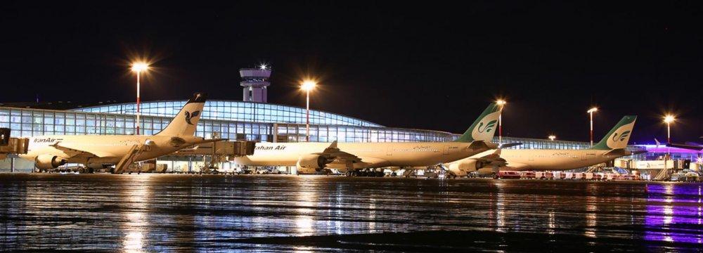 5% Decline in Iran Airport Traffic