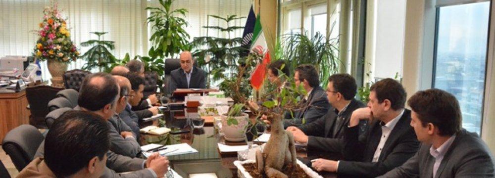 Tejarat Bank Boosting  Ties With Peugeot