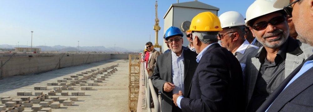 2 Dry Docks Inaugurated in Bandar Abbas