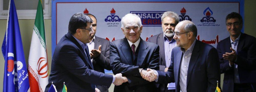 Italy's Ansaldo Set to Produce Power From Iran's South Pars Gas Flares