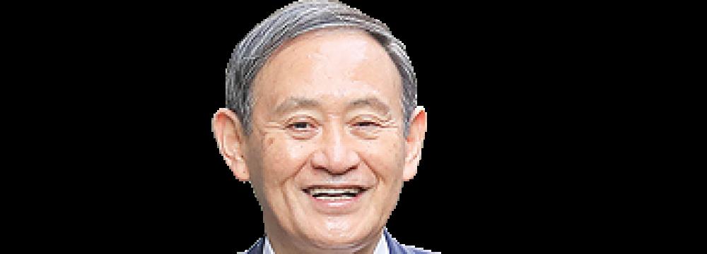 Suga Wins Party Vote for Japan Premier