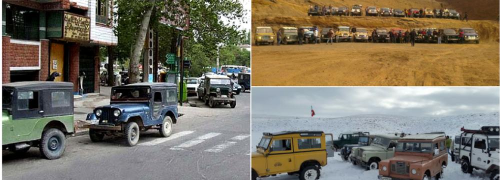Maragheh, Iranian City of Jeeps