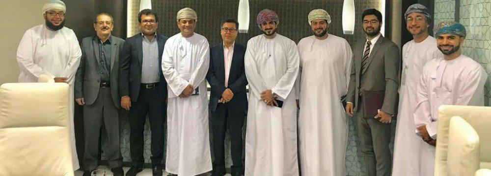 Kish FTZ Chief Bolsters Oman Coop.