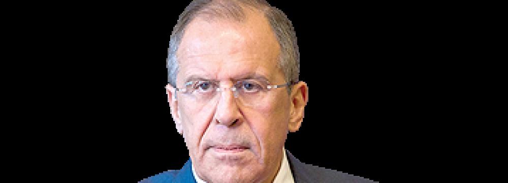 Lavrov: Washington's Push Against Tehran Can Erode Security Council's Authority