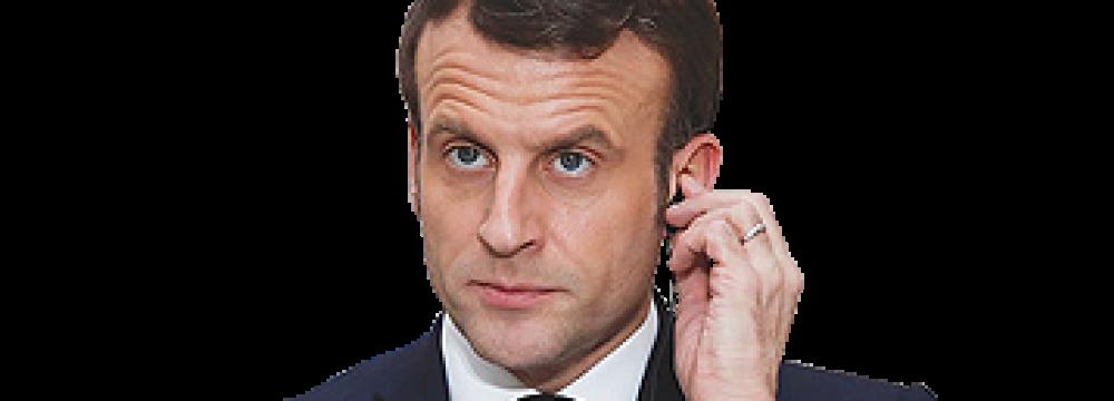 Macron Upbeat About Improved Iran Trade Through INSTEX