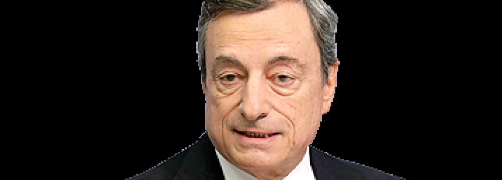 Draghi Backs Further Euro Integration