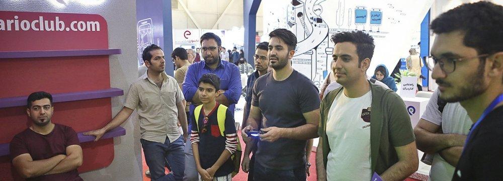 Elecomp 2017 Opens in Tehran