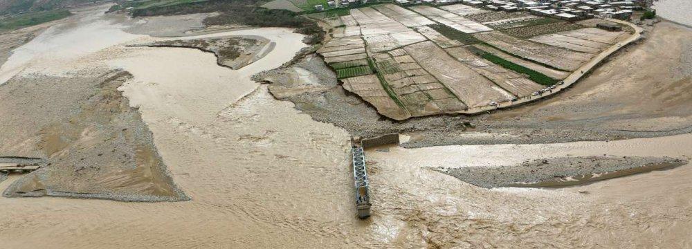 Iran Floods Cause Half a Billion Dollar Damage to Agriculture, Roads