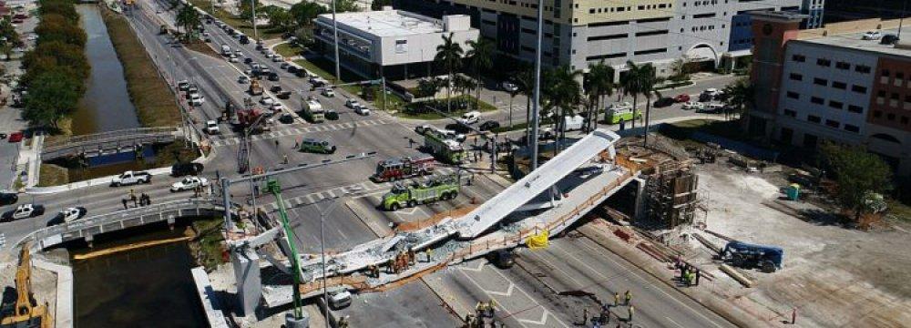 Florida Bridge Collapse Kills Six