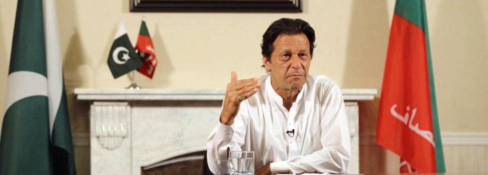 Pakistan's Imran Khan Wins Vote but No Majority