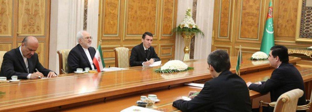 Turkmen President Hails Longstanding Relations