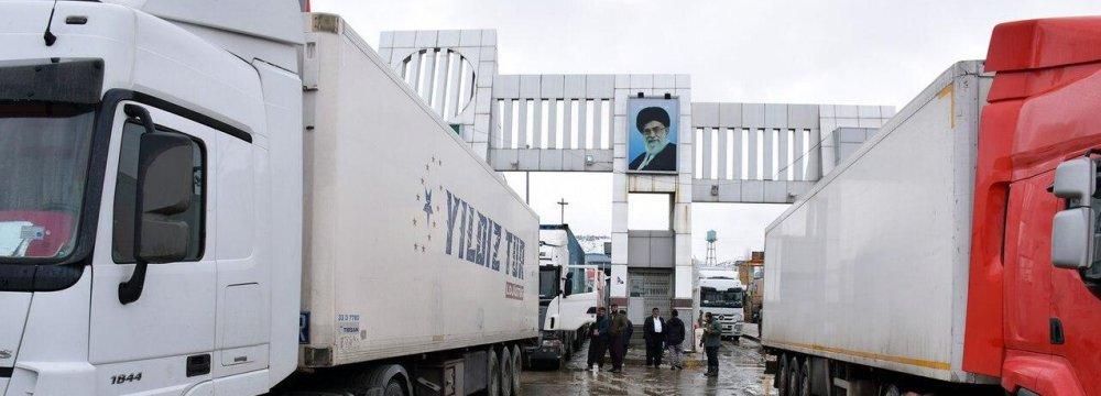 Two Iranian Border Crossings Resume Trade With Iraqi Kurdistan