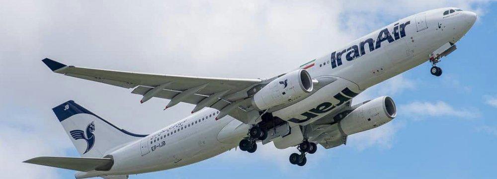 IranAir Schedules Flights to Madrid, Vienna
