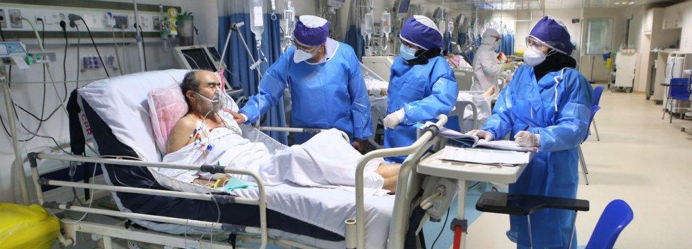 Iran Virus Infections Cross 300,000 Mark