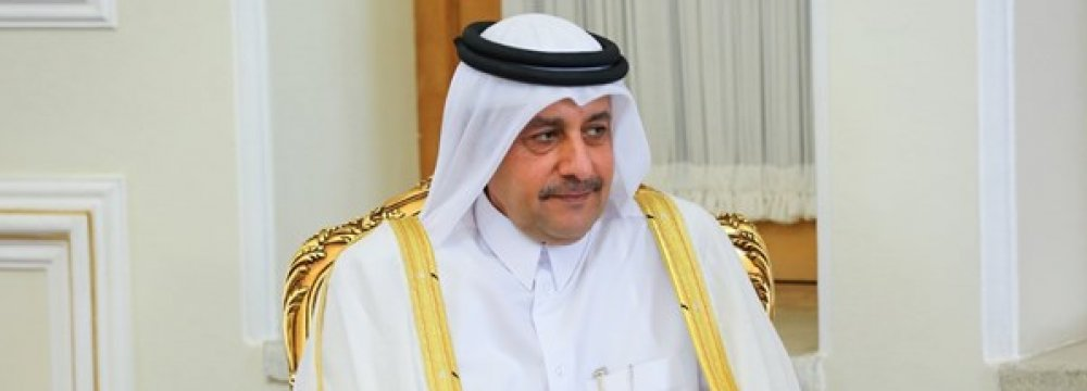 Qatari Envoy Hails Iran's Assistance One Year After Saudi-Led Embargo