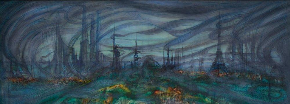 Mahjoubi's Works on Sale