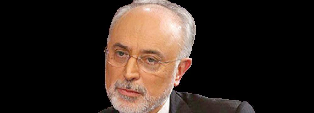AEOI Chief in Vienna for Nuclear Confab