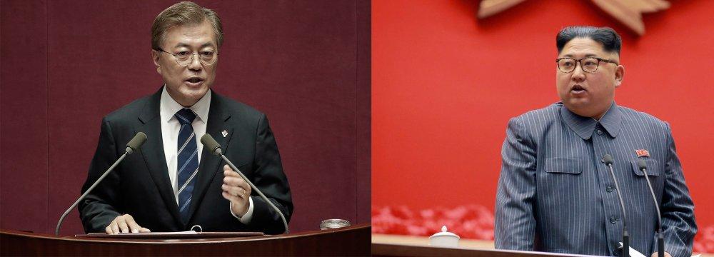 Groundbreaking Chance for  KOrean Talks