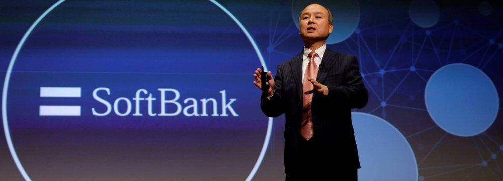 Softbank Q1 Profit Jumps 49%