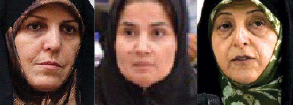 Rouhani Appoints 3 Women Cabinet Members