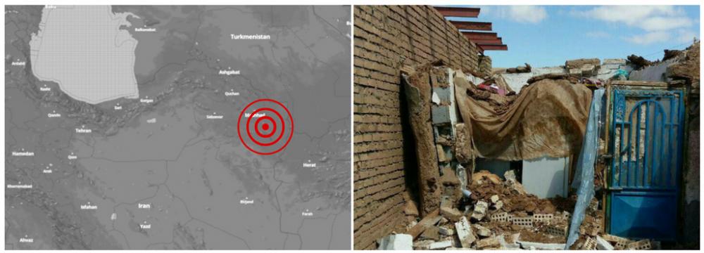 Magnitude 6.1 Quake Strikes Northeast of Iran
