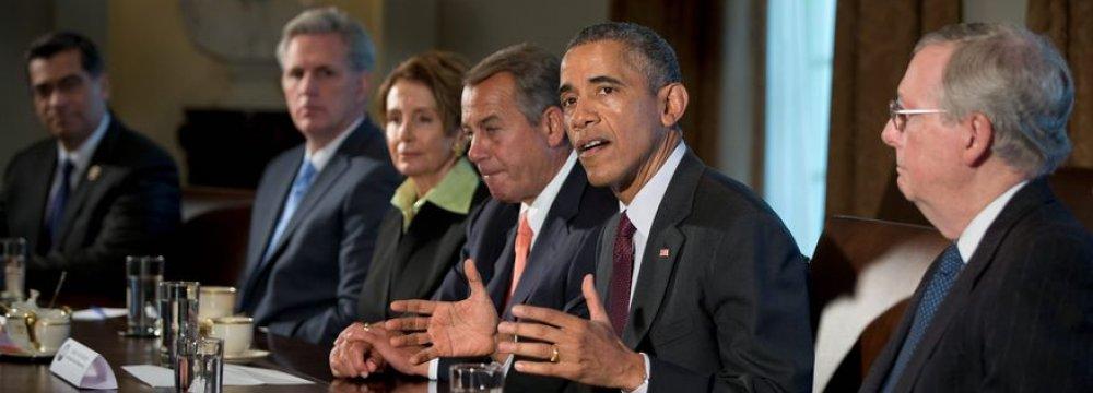 Obama Opposes Sanctions Legislation