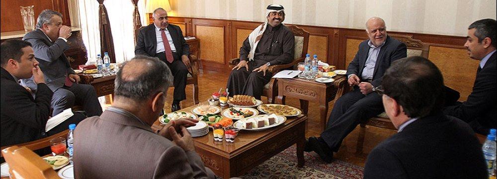 High-Stakes Oil Talks in Tehran
