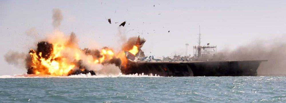 IRGC in Major Naval Drills