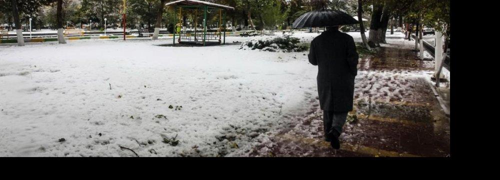 Freak Cold Weather Hits Northwest